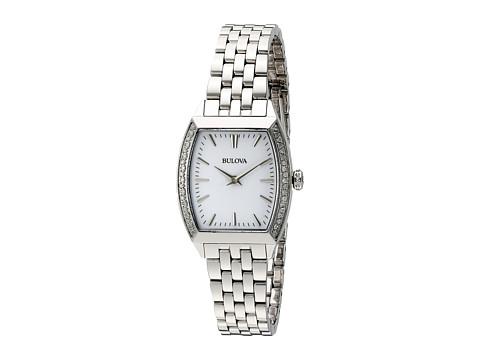 Bulova Ladies Diamond Gallery - 96R196 (White) Watches