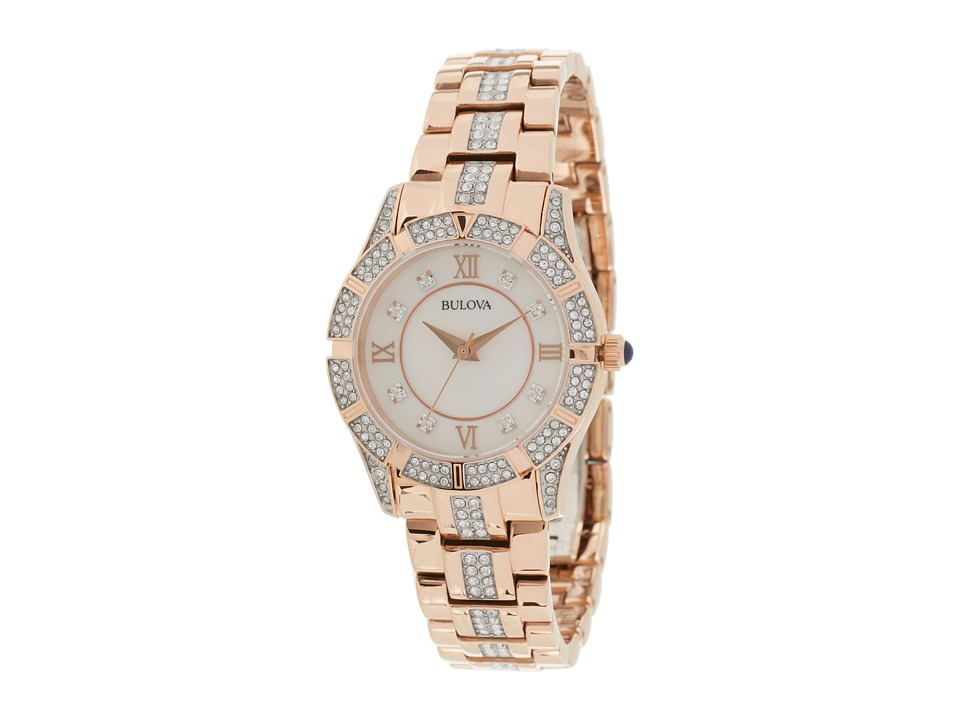 Bulova Ladies Crystal - 98L197 Watches
