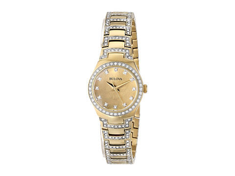 Bulova - Ladies Crystal - 98L199 (Yellow) Watches