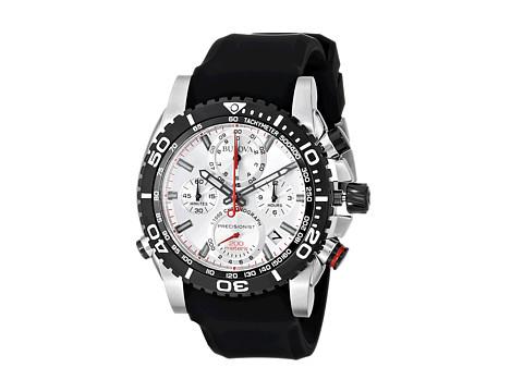 Bulova Mens Precisionist - 98B210 (Black Strap) Watches