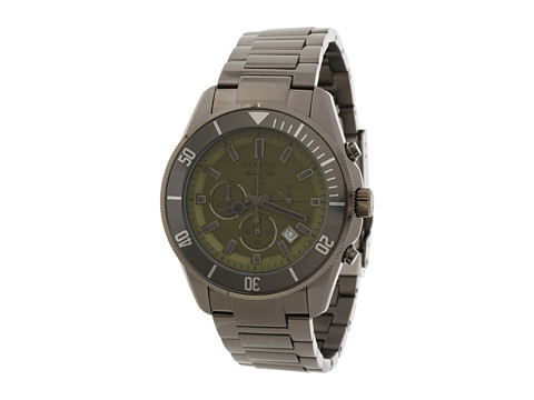 Bulova Mens Marine Star - 98B206 (Black) Watches