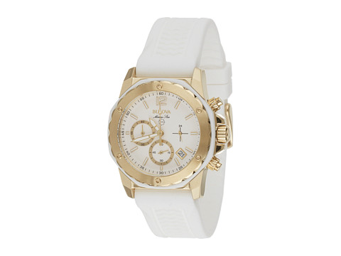 Bulova - Ladies Marine Star - 98M117 (White) Watches