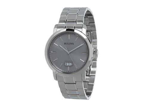Bulova Mens Dress - 96B200 (White) Dress Watches