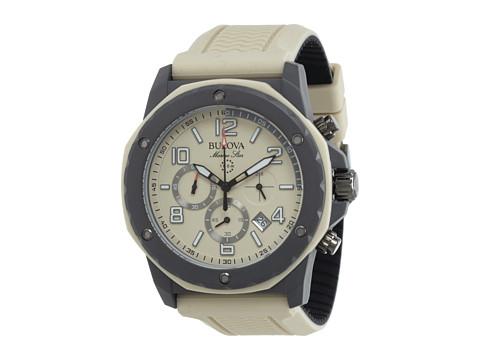 Bulova Mens Marine Star - 98B201 (Brown) Watches