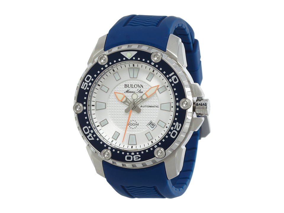 Bulova - Mens Marine Star - 98B208 (Blue) Watches