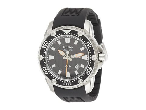 Bulova Mens Marine Star - 98B209 (Black) Watches