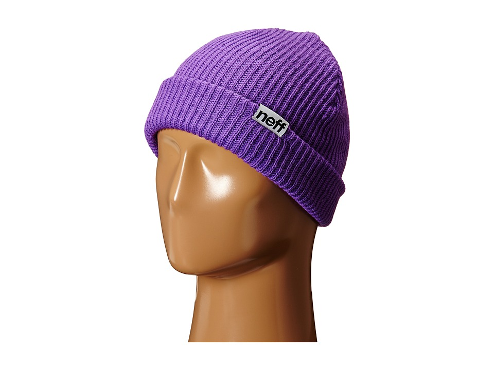 Neff - Fold Beanie (Neon Purple) Beanies