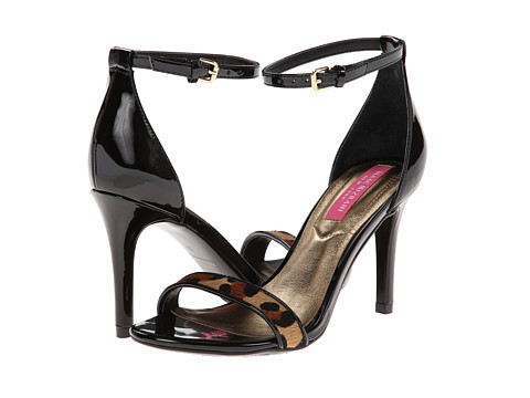 Isaac Mizrahi New York - Popular 2 (Black/Black & Brown Animal) High Heels