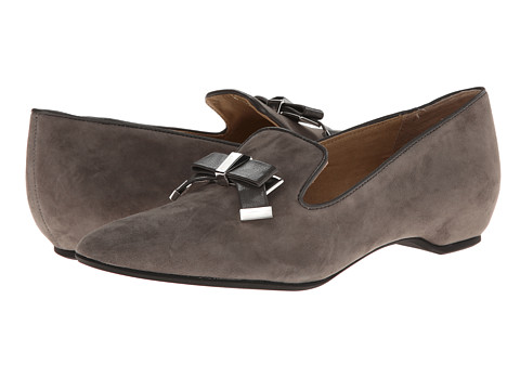 Isaac Mizrahi New York - French (Charcoal Suede) Women