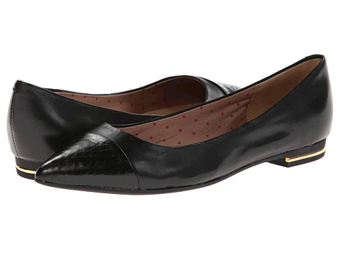 Isaac Mizrahi New York - Gayle (Black/Black) Women's Flat Shoes