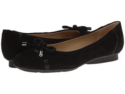 Geox - Donna Stefany 53 (Black) Women's Dress Flat Shoes