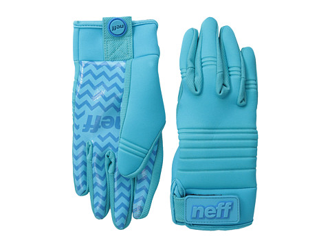 Neff - Daily Pipe Glove 2 (Cyan) Snowboard Gloves