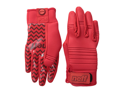 Neff - Daily Pipe Glove 2 (Red) Snowboard Gloves
