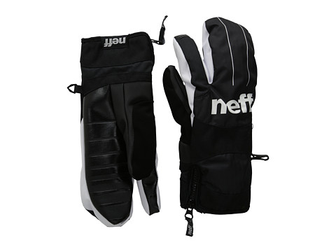 Neff - Klaw Mitt (Black) Over-Mits Gloves