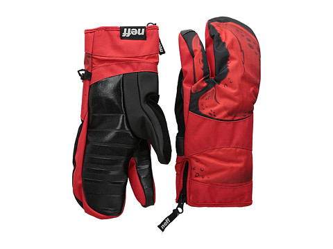 Neff - Klaw Mitt (Red) Over-Mits Gloves