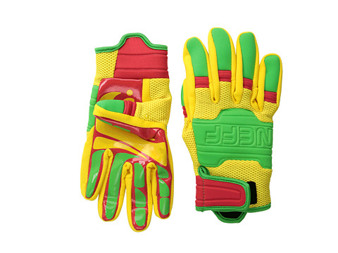 Neff - Rover Glove (Rasta) Extreme Cold Weather Gloves