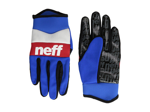 Neff - Ripper Glove (Blue/Red/White) Extreme Cold Weather Gloves