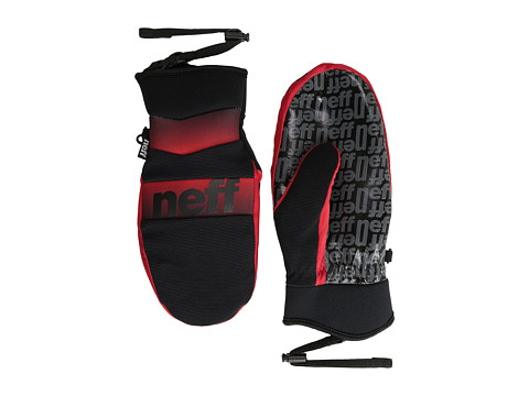 Neff - Ripper Mitt (Red) Over-Mits Gloves
