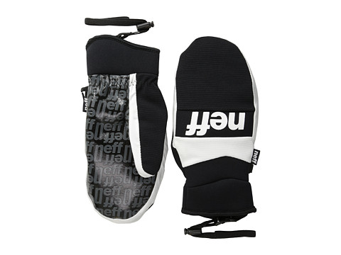 Neff - Ripper Mitt (White) Over-Mits Gloves