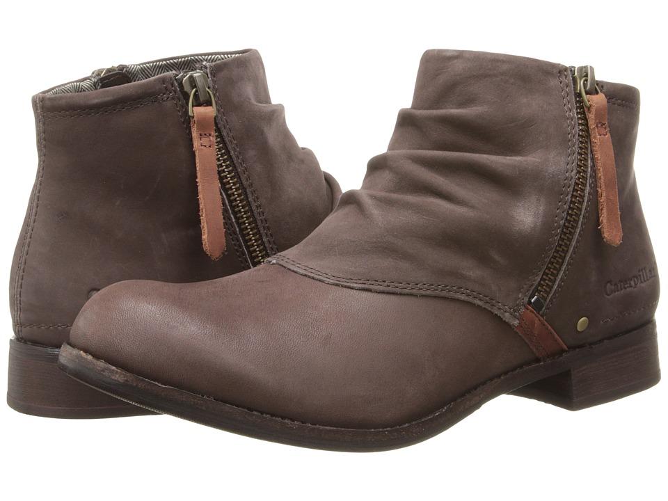 Caterpillar Casual - Irenea (Coach Leather/Espresso Suede/Fall Flame Suede) Women's Zip Boots