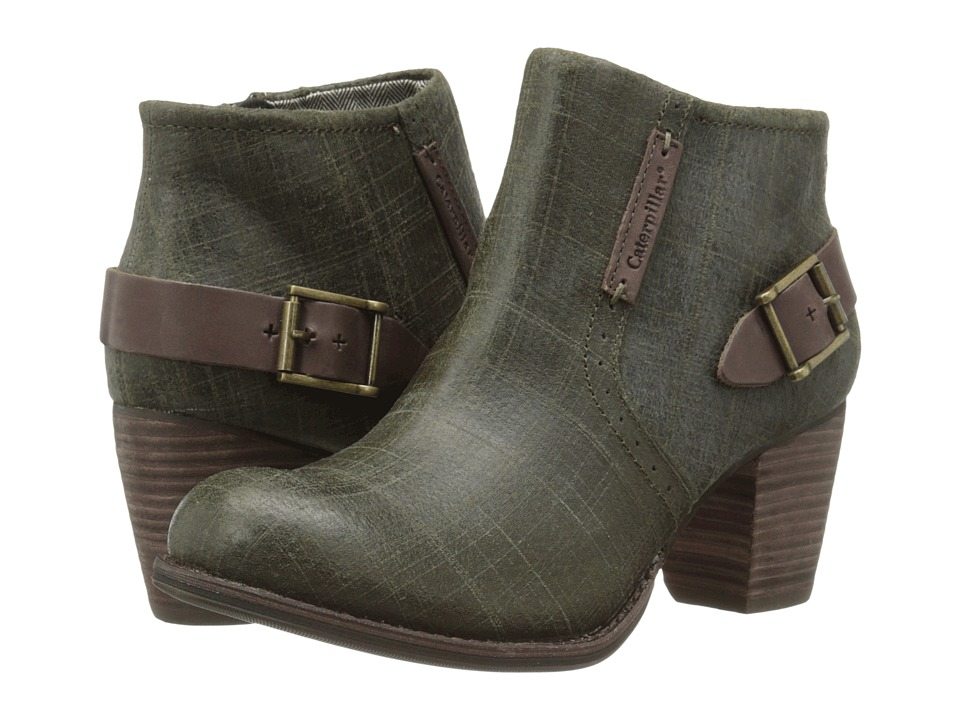 Caterpillar Casual - Annette (Deep Olive) Women's Boots