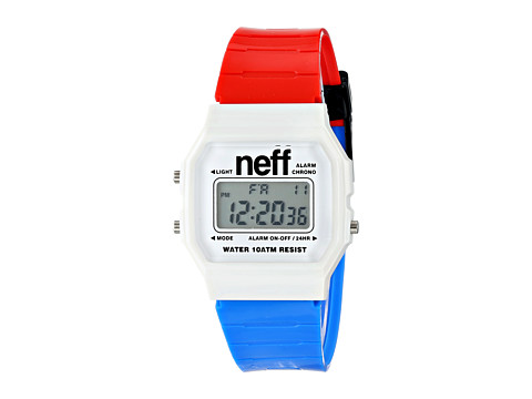 Neff - Flava XL (Red/White/Blue) Watches