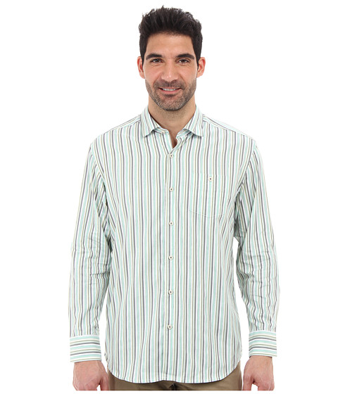 Tommy Bahama - Rail Time L/S Shirt (Seagrass) Men