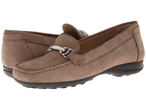 Geox - Donna Euro 52 (Taupe) Women's Slip on Shoes
