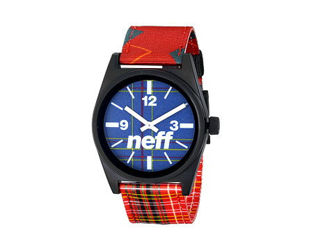 Neff - Daily Woven Watch (Rad Plaid) Watches