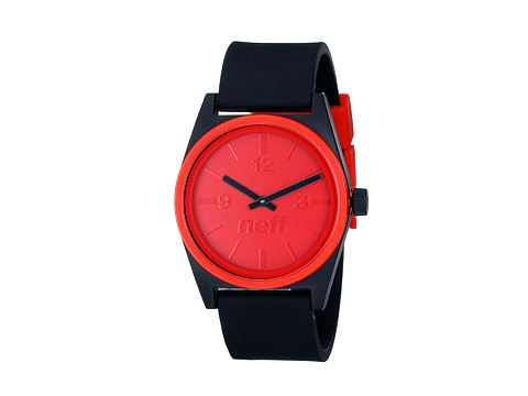 Neff - Deuce (Black/Red) Analog Watches