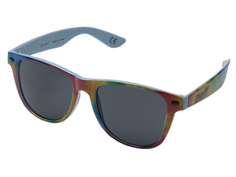 Neff - Daily Shades (Tie Dye Sky) Sport Sunglasses