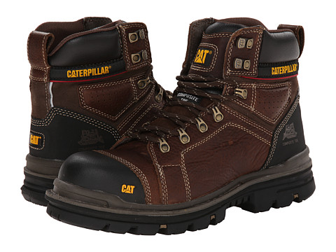 Caterpillar - Hauler 6 (Oak Brown) Men's Work Lace-up Boots