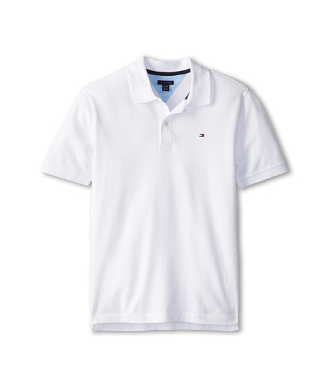 Tommy Hilfiger Kids - Ivy Polo (Big Kids) (Classic White) Boy