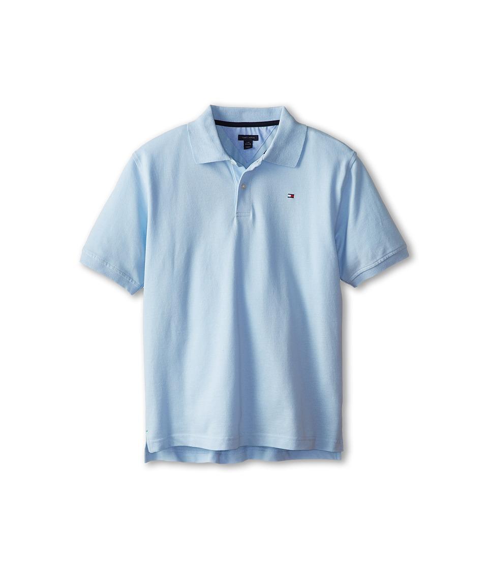 Tommy Hilfiger Kids - Ivy Polo (Big Kids) (Capri Blue) Boy's Short Sleeve Pullover