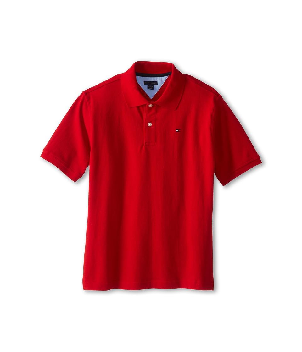 Tommy Hilfiger Kids - Ivy Polo (Big Kids) (Regal Red) Boy's Short Sleeve Pullover