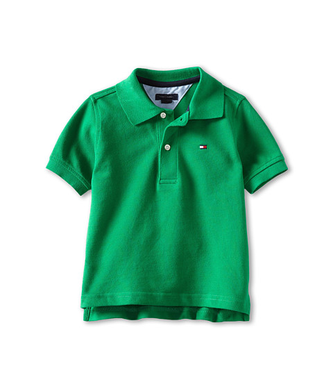 Tommy Hilfiger Kids - Ivy Polo (Toddler/Little Kids) (Rhinestone Green) Boy's Short Sleeve Pullover