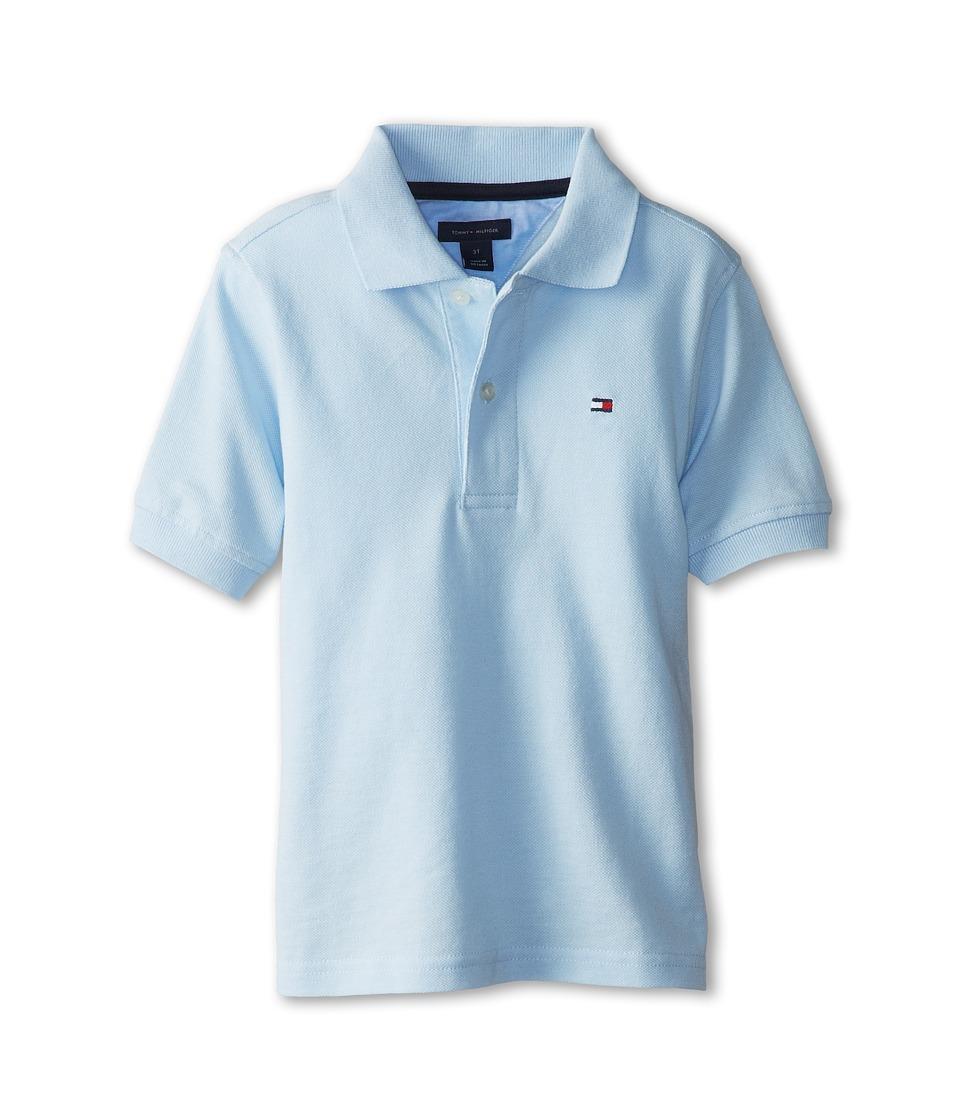 Tommy Hilfiger Kids - Ivy Polo (Toddler/Little Kids) (Capri Blue) Boy's Short Sleeve Pullover