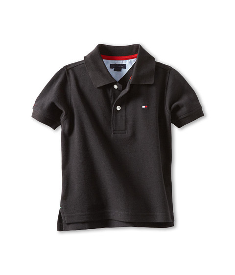 Tommy Hilfiger Kids - Ivy Polo (Toddler/Little Kids) (Tommy Black) Boy