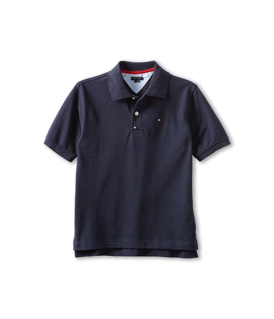 Tommy Hilfiger Kids - Ivy Polo (Toddler/Little Kids) (Masters Navy) Boy's Short Sleeve Pullover