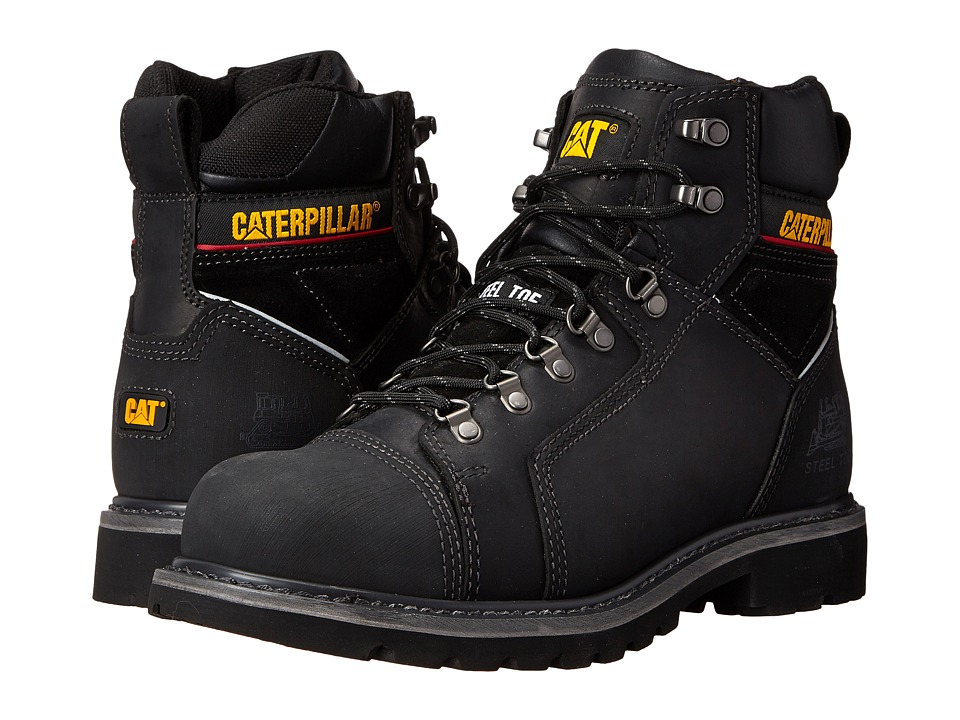 Caterpillar - Tracklayer 6 (Black) Men's Work Lace-up Boots