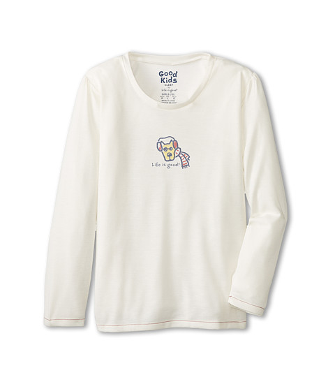 Life is good Kids - Rocket Rocket Sleep Long Sleeve (Simply Ivory) Girl's Pajama
