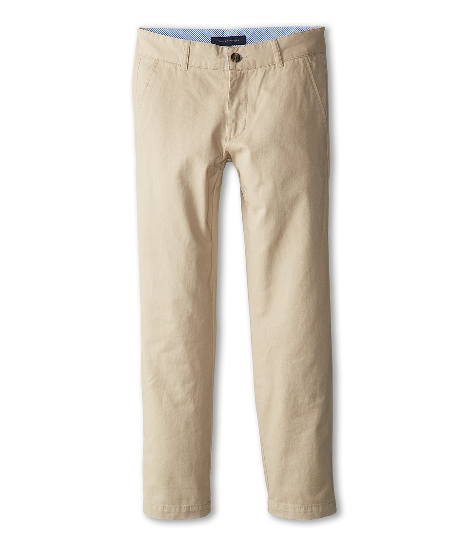 Tommy Hilfiger Kids - Academy Chino Pant (Big Kids) (Travel Khaki) Boy's Casual Pants