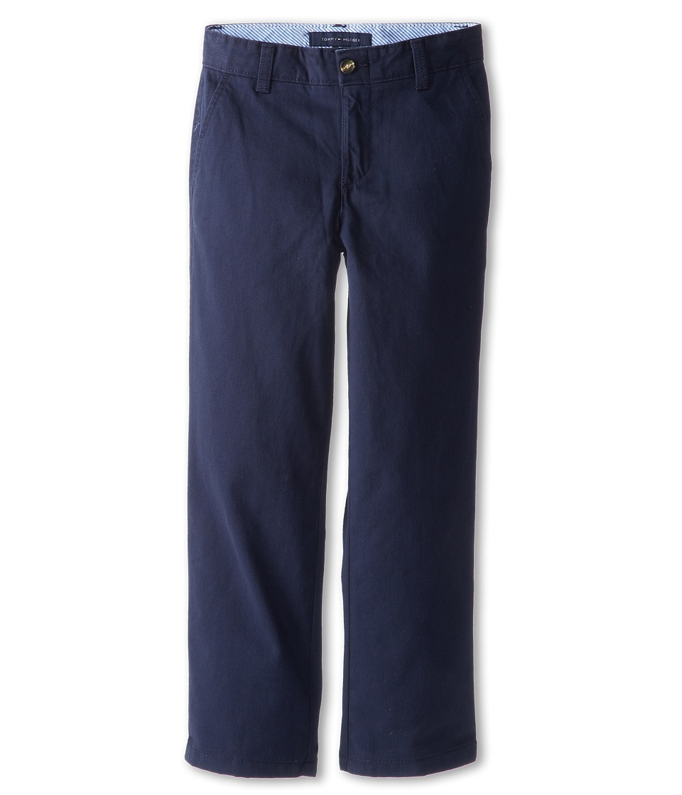 Tommy Hilfiger Kids - Academy Chino Pant (Big Kids) (Swim Navy) Boy's Casual Pants