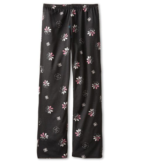 Life is good Kids - Daisy Sleep Pant (Toddler/Little Kid/Big Kid) (Night Black) Girl's Pajama