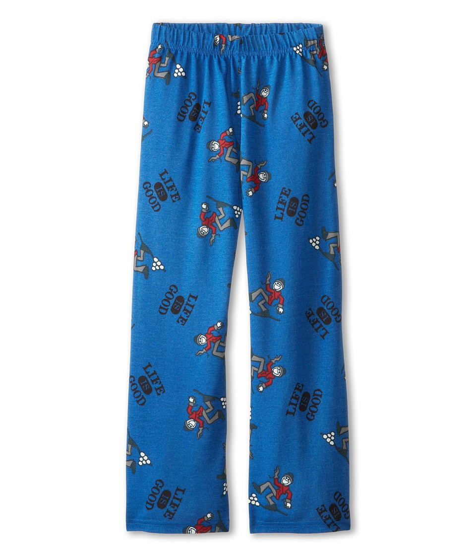 Life is good Kids - Snowball Sleep Pant (Toddler/Little Kid/Big Kid) (Sapphire Blue) Boy's Pajama