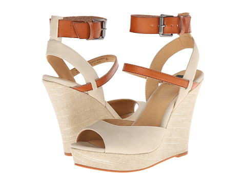 BC Footwear - Move It (Off White) Women's Wedge Shoes