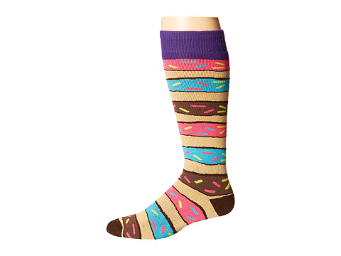 Neff - Donut Snow Sock (Donut) Knee High Socks Shoes