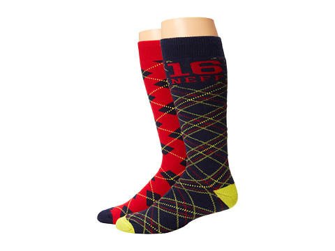 Neff - Rad 16 Snow Sock (Rad Plaid) Knee High Socks Shoes