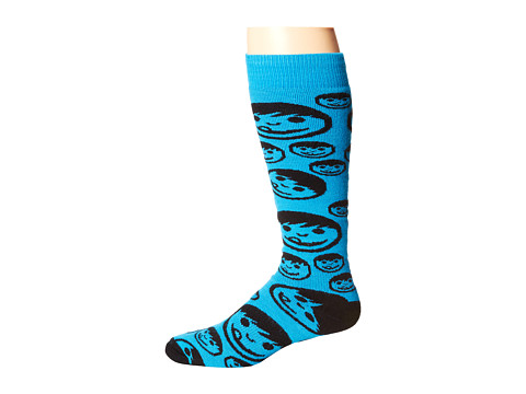 Neff - Corpo Sucker Snow Sock (Cyan) Knee High Socks Shoes