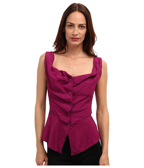 Vivienne Westwood Anglomania - Sunday Blouse (Purple) Women's Blouse